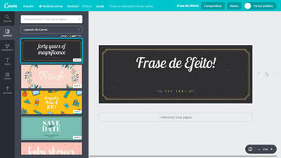 Tutorial Canva Layout