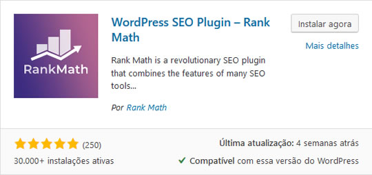 Rank Math Diretório WordPress